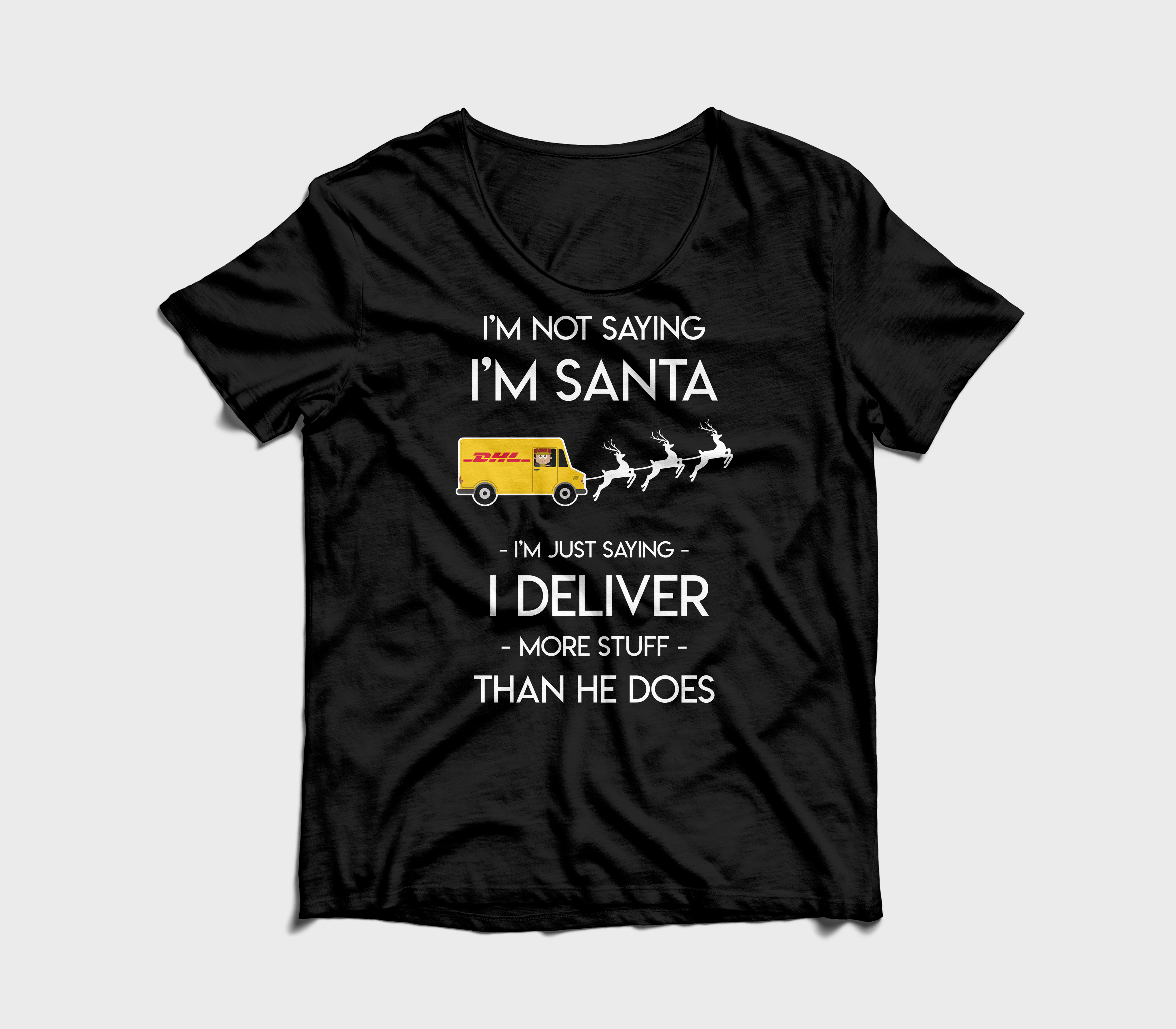 dhl kerst shirt