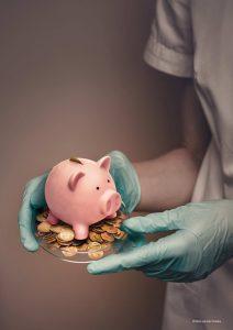 scientist piggybank