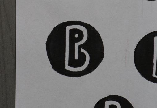 PB logo schets