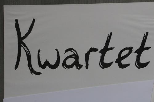 Kwartet handgeschreven